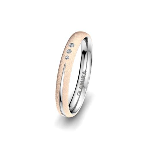 Ženski Prsten Brilliant Charm 3 mm