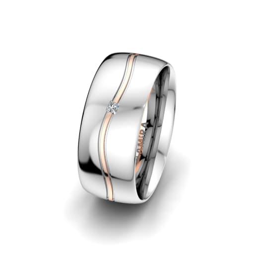 Sieviesu Gredzens Alluring Fusion 8 mm