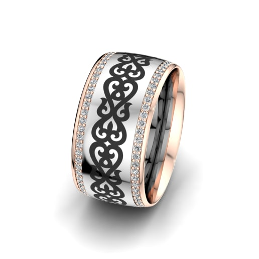 Women's Ring Essential Glow 10 mm