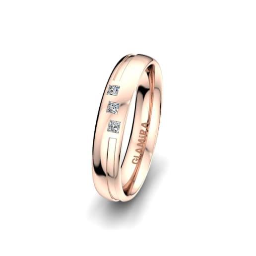 Women's Ring Charming Pretty 4 mm