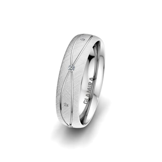 Women's Ring Romantic Shape 5 mm