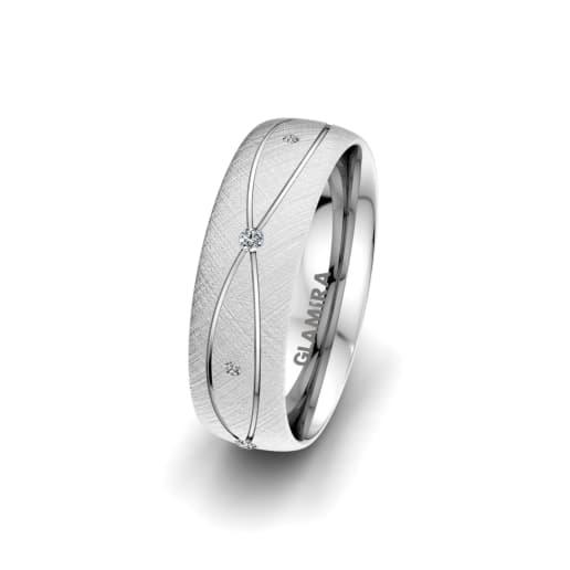Women's Ring Romantic Shape 6 mm