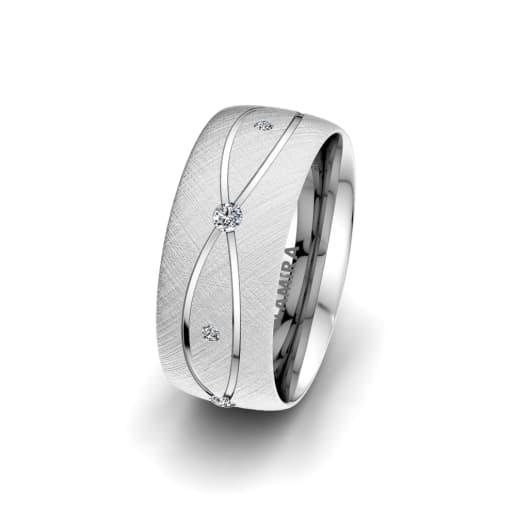 Women's Ring Romantic Shape 8 mm