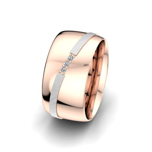 Damenring Romantic Line 10 mm