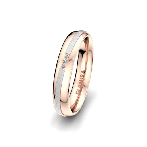 Damenring Romantic Line 4 mm
