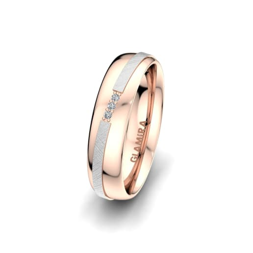 Damenring Romantic Line 5 mm
