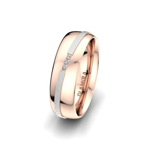 Anello da donna Romantic Line 6 mm