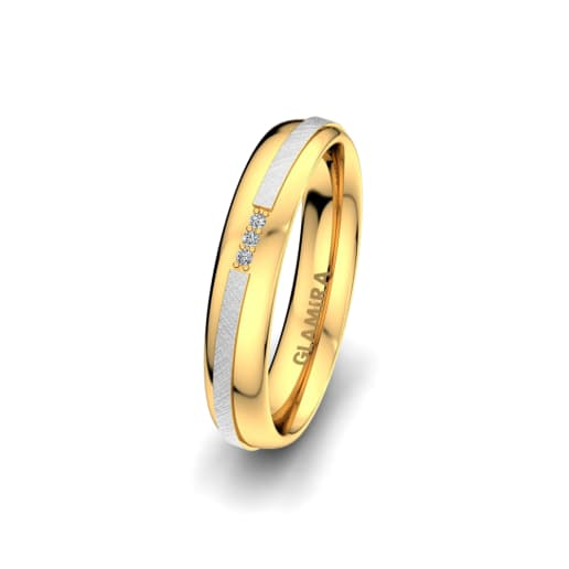 Women's Ring Romantic Line 4 mm