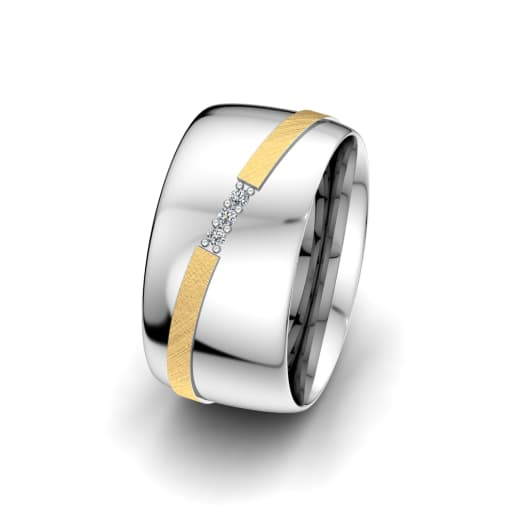Women's Ring Romantic Line 10 mm
