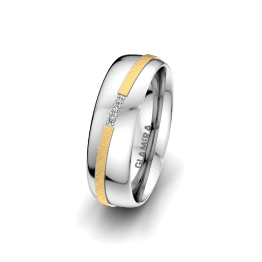 Women's Ring Romantic Line 6 mm