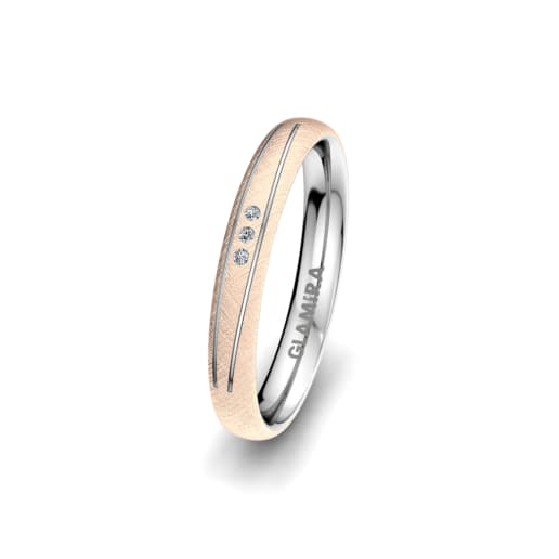 Ženski Prsten Natural Alluring 3 mm