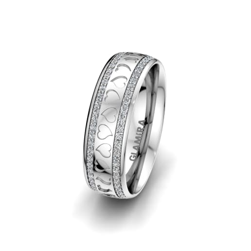 Women's Ring Precious Love 6 mm