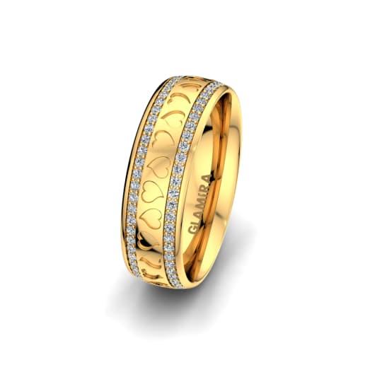 Women's Ring Precious Love 6 mm