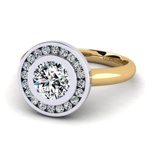 GLAMIRA Diamonds Žiedas Abigail