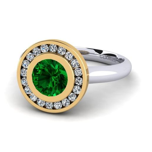 GLAMIRA Diamantni Prstan Abigail