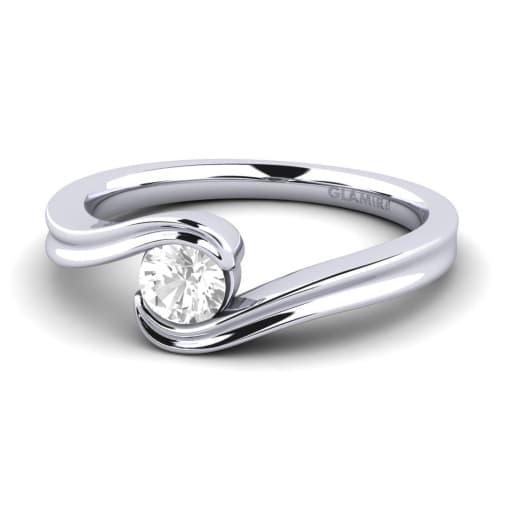 GLAMIRA Diamantni Prstan Adele
