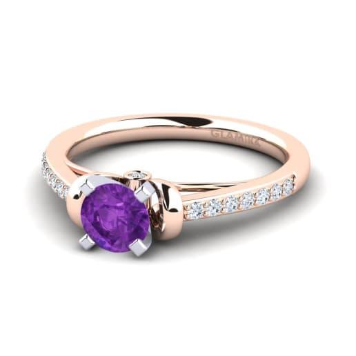 GLAMIRA Ring Berdina 0.5 crt