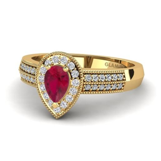 GLAMIRA Diamantni Prstan Cecilia