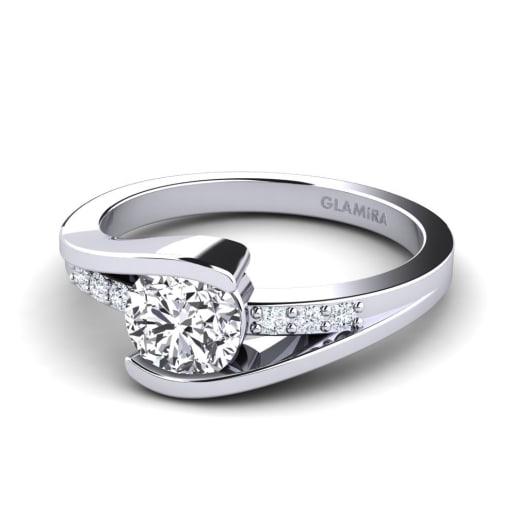 GLAMIRA Ring Gredel 0.8 crt