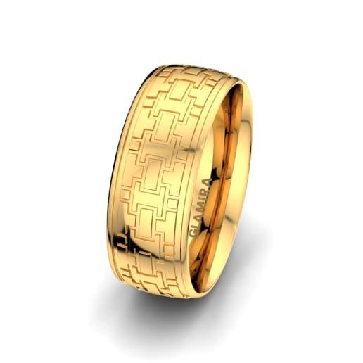 Men's Ring Unique Line 8 mm