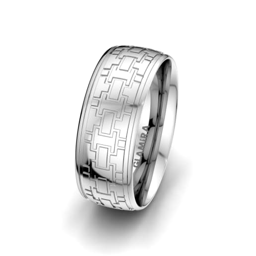 Men's Ring Unique Line 8 mm