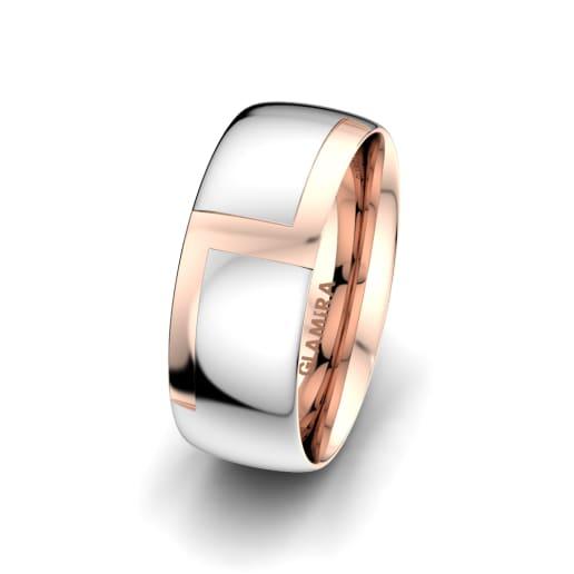 Men's Ring Sensual Waves 8 mm