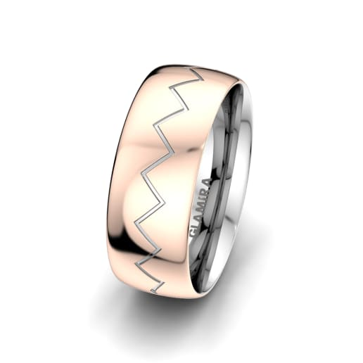 Men's Ring Unique Harmony 8 mm