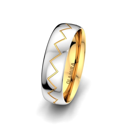 Men's Ring Unique Harmony 6 mm