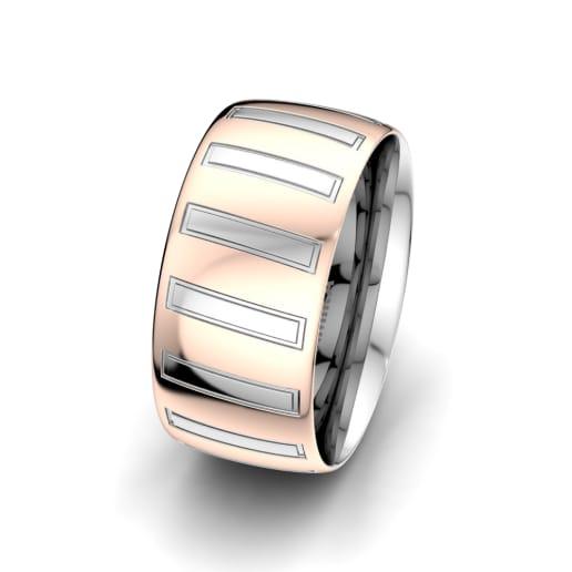 Moški prstani Unique Star 10 mm