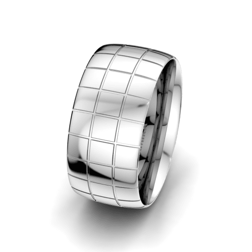 Men's Ring Essential Reality 10 mm