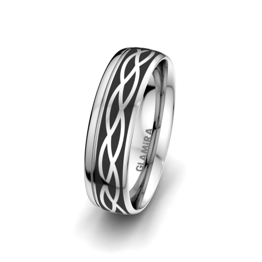 Men's Ring Mystic shape 6 mm