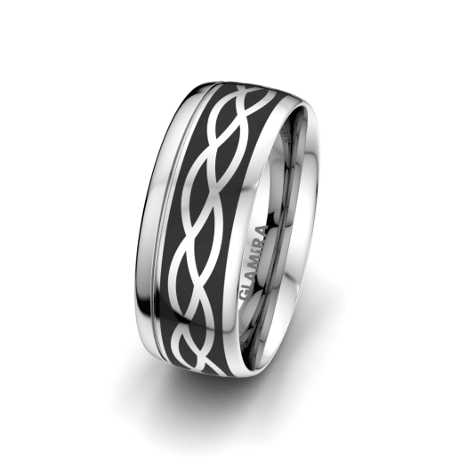 Men's Ring Mystic shape 8 mm