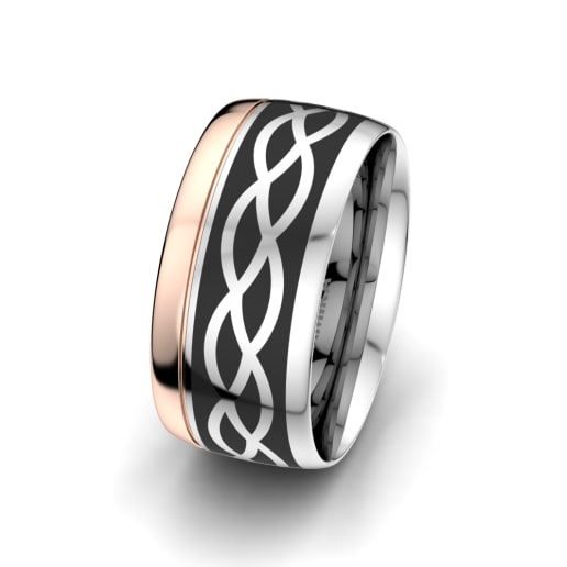 Men's Ring Mystic shape 10 mm