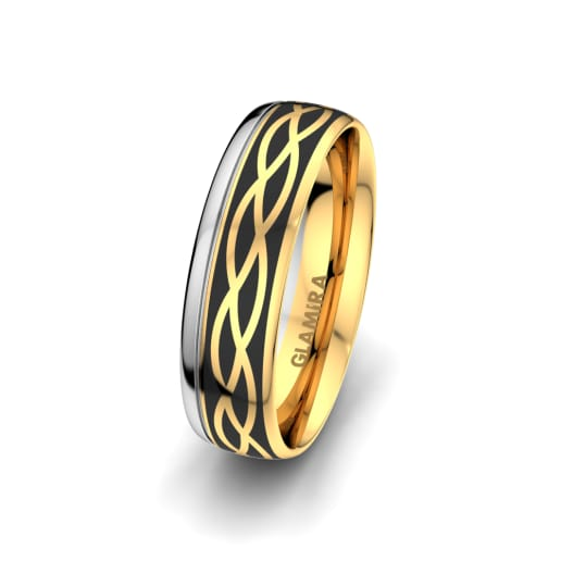 Men's Ring Mystic shape 6 mm