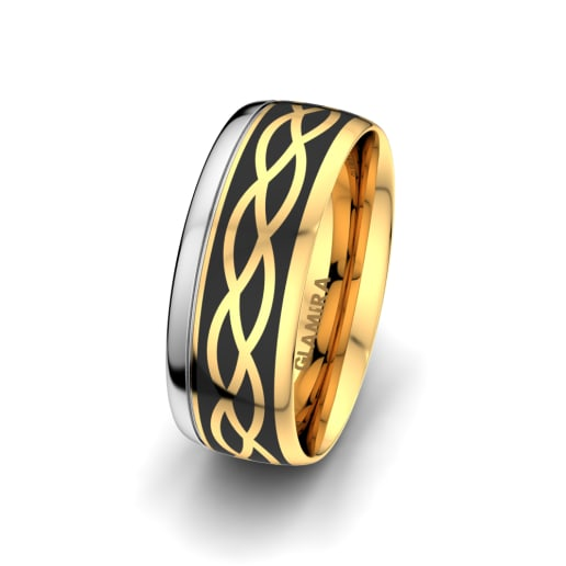 Men's Ring Mystic shape 8 mm