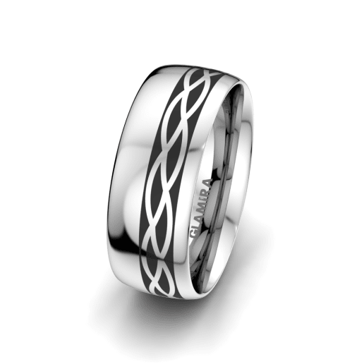 Men's Ring Magic Jewel 8 mm