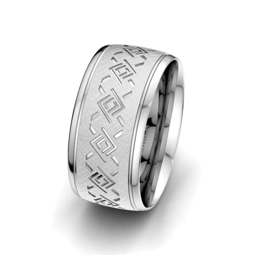 Men's Ring Endless Road 10 mm
