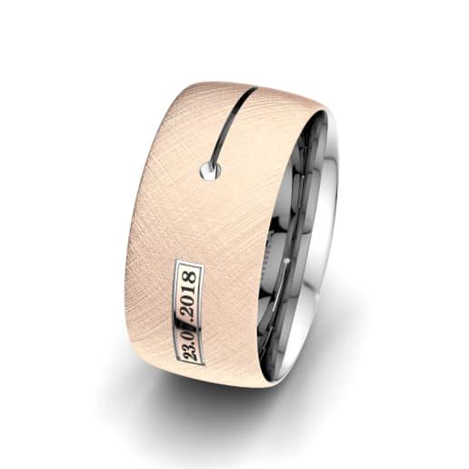 Men's Ring Alluring Night 10 mm