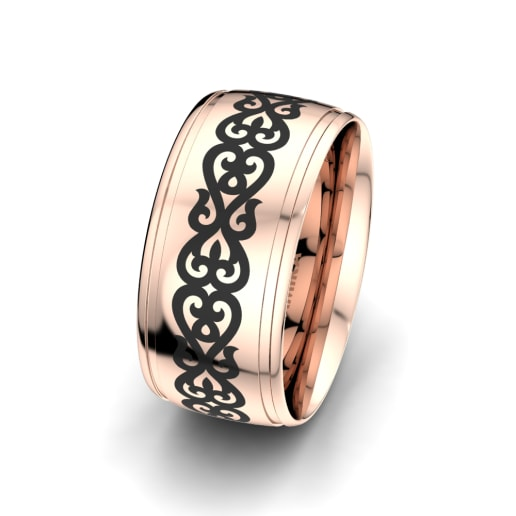 Men's Ring Essential Glow 10 mm