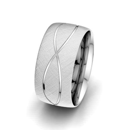 Men's Ring Romantic Shape 10 mm