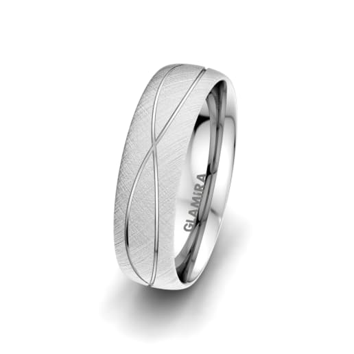 Men's Ring Romantic Shape 6 mm