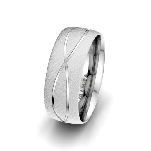 Men's Ring Romantic Shape 8 mm
