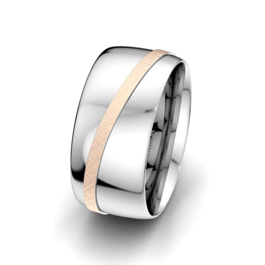 Men's Ring Romantic Line 10 mm