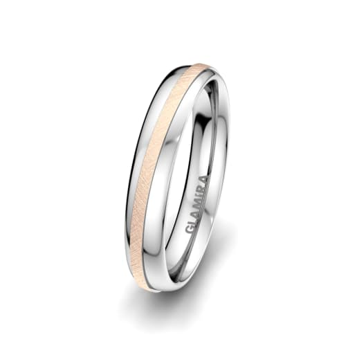 Anello da uomo Romantic Line 4 mm