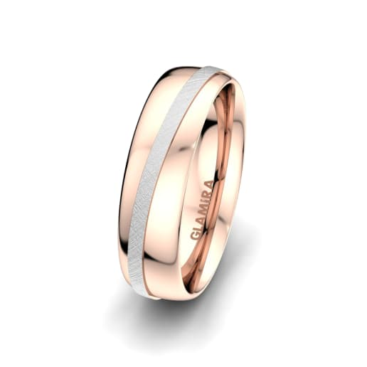 Herenring Romantic Line 6 mm