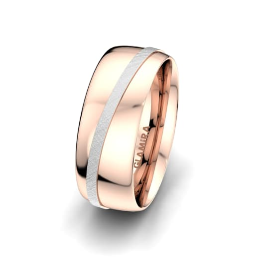 Men's Ring Romantic Line 8 mm