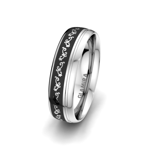 Men's Ring Noble Life 6 mm