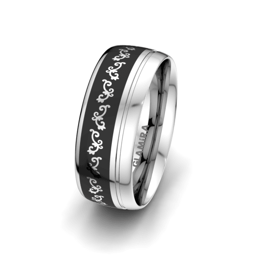 Men's Ring Noble Life 8 mm