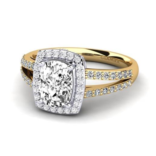 GLAMIRA Diamonds Žiedas Holly