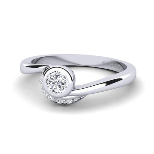 GLAMIRA Ring Joyce 0.25 crt